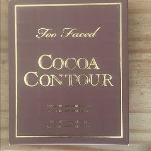 Two Faced Cocoa Contour palette.